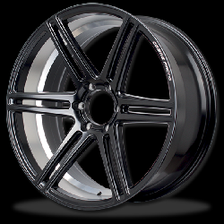 แม็กซ์ P&P Superwheels RaceBlack-6D