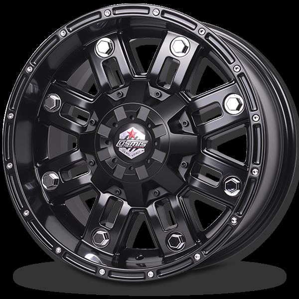 P&P Superwheels Devil 8D color BLKM5