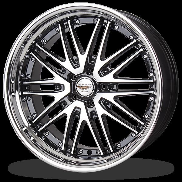 P&P Superwheels California color BKF-I, BMC-I