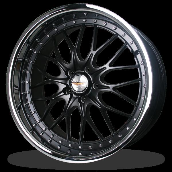 P&P Superwheels Yaguza color BK-MBKI