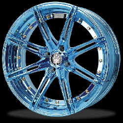 แม็กซ์ P&P Superwheels Rika Anodized