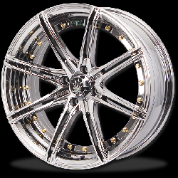 แม็กซ์ P&P Superwheels Rika 17Inch