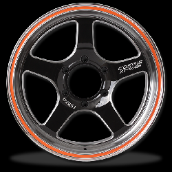 แม็กซ์ P&P Superwheels Cosmis XT-005R 17Inch 6H