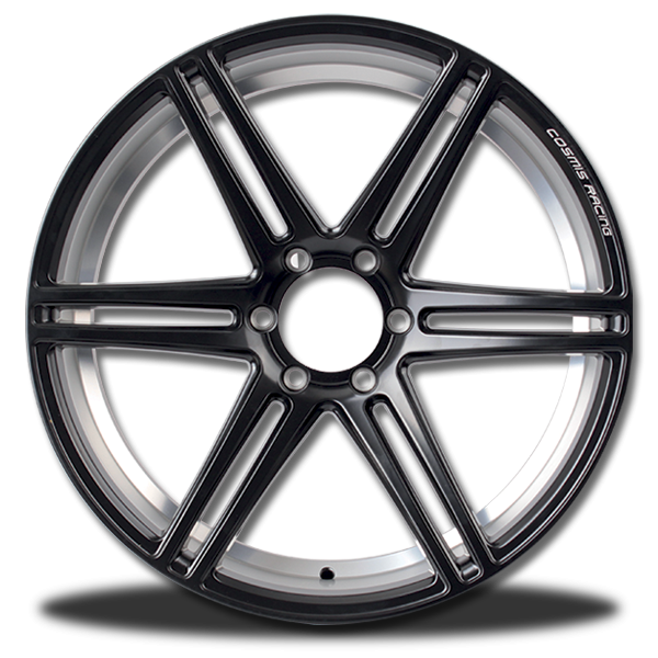 P&P Superwheels Cosmis RaceBlack-6D  คลิกรูปใหญ่