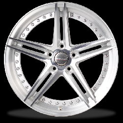ล้อแม็กซ์ P&P Superwheels NAYA NyF.5D (2 Piece) 15